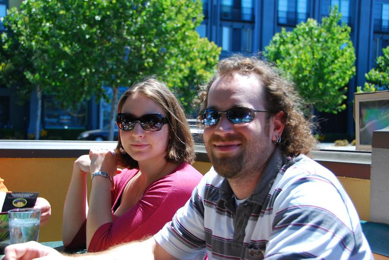 Megan and John at Flames.