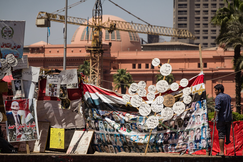 Genevieve Hathaway_Egypt_Arab Spring_daily life_protester on Tahrir Square.jpg