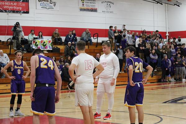 '19 Cardinal JV and Varsity Boys Basketball Game