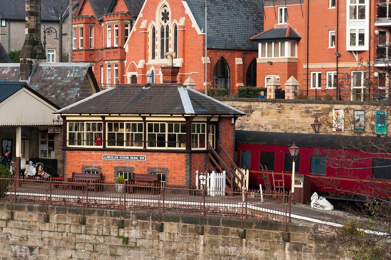 The Llangollen station in Wales, United Kingdom