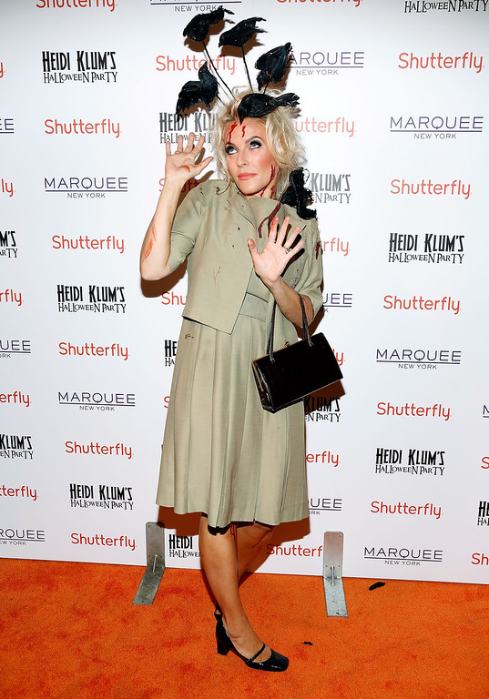 . Designer Keren Craig  attends Shutterfly Presents Heidi Klum\'s 14th Annual Halloween Party sponsored by SVEDKA Vodka and smartwater at Marquee on October 31, 2013 in New York City.  (Photo by Cindy Ord/Getty Images for Heidi Klum)