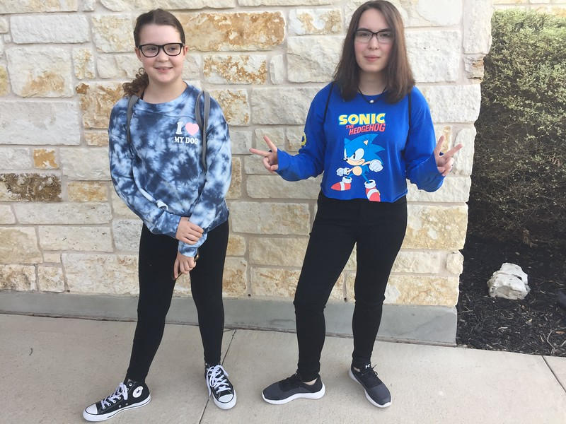 Zöe and Reese   7th and 9th   Henry Middle School and Vista Ridge High School