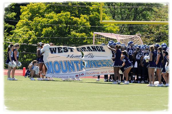 West Football vs. West Morris