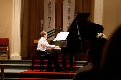 Daniel's piano recital May 11, 2012