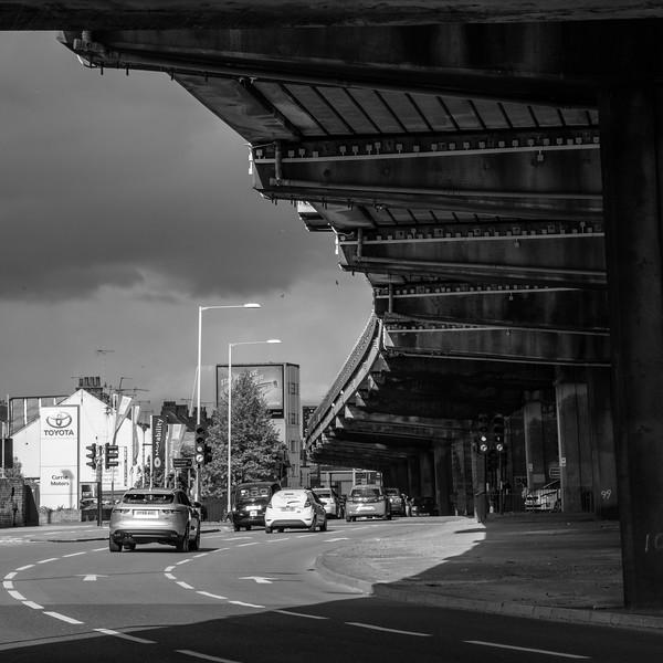 Chiswick Flyover in London