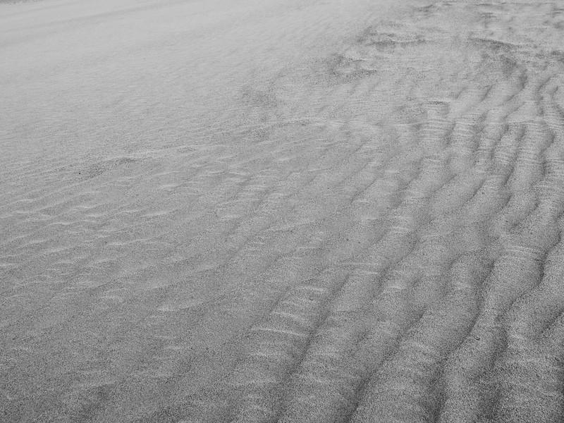 Cross Dunes forming