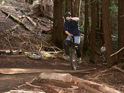 Santa Cruz Muni rides Feb 18,23,24, 2002