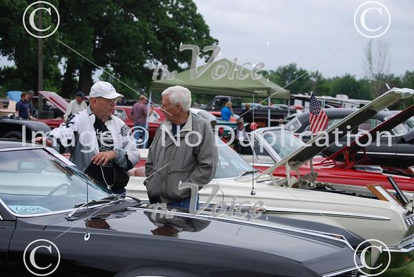 Big Rock Classic Car Show at Plowman's Park in Big Rock, IL 6-2-13