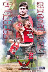 2021 Clabough Shot Put Champ Poster