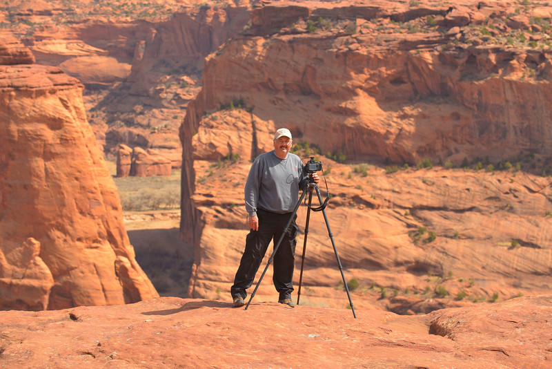 Me where Ansel Adams stood taking his great photo back in the early 1940s
