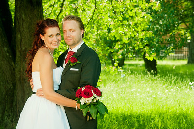 Wedding - Ludde and Ella in Uppsala 2011