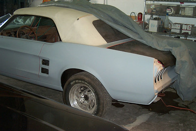 1967 Ford Mustang Quarter Replacement