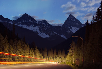 Rogers Pass area
