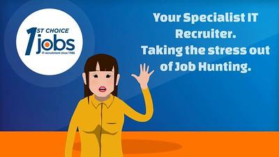 1st Choice Jobs - Animated Video