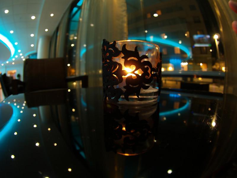 Lysestake - Scandic City Sentrum, Bergen Lights - Scandic City Sentrum Hotel, Bergen  Zuiko 8mm (16mm 35mm SLR equivalent) (Foto: Geir)