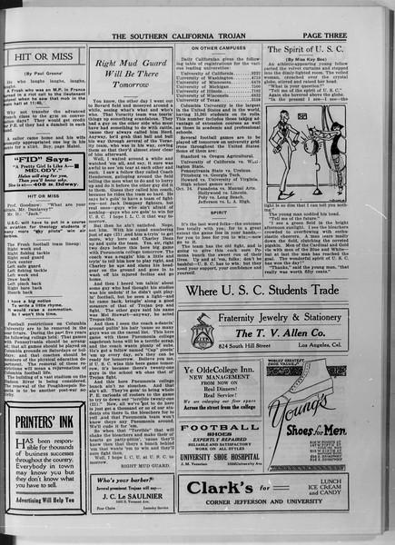 The Southern California Trojan, Vol. 11, No. 9, October 24, 1919