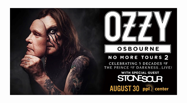 2018 Ozzy Osbourne - PPL Center 8/30/18