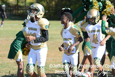 10-10-2015 Montgomery Village Sports Association Chiefs Pee Wee vs Southern Maryland Eagles, Photos by Jeffrey Vogt Photography