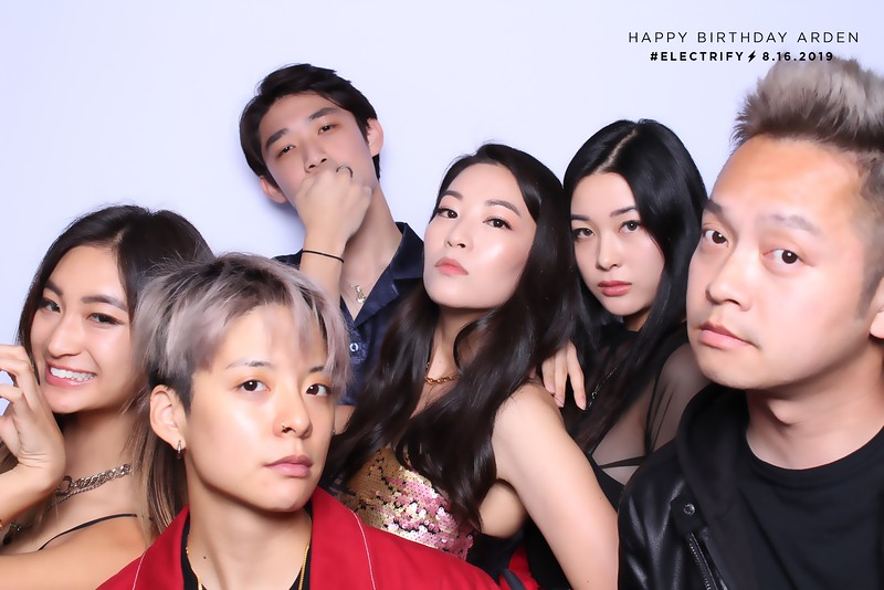 Happy Birthday Arden (SkinGlow Booth)