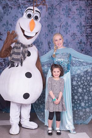 Princetown Preschool Breakfast with Elsa and Olaf April 2016