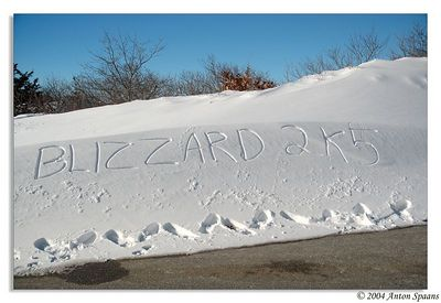 Boston's Blizzard 2005