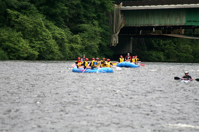 WHITE WATER RAFTING #2 CLASS OF 2011