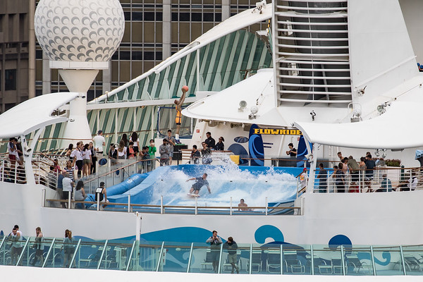 Crystal Symphony & Voyager of the Seas