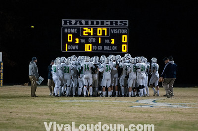 Woodgrove at County Dulles District Playoffs 11.09.2012 (Rob Warfel)