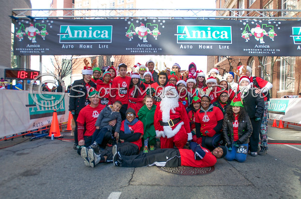 Amica Downtown Jingle Run 5k 2014