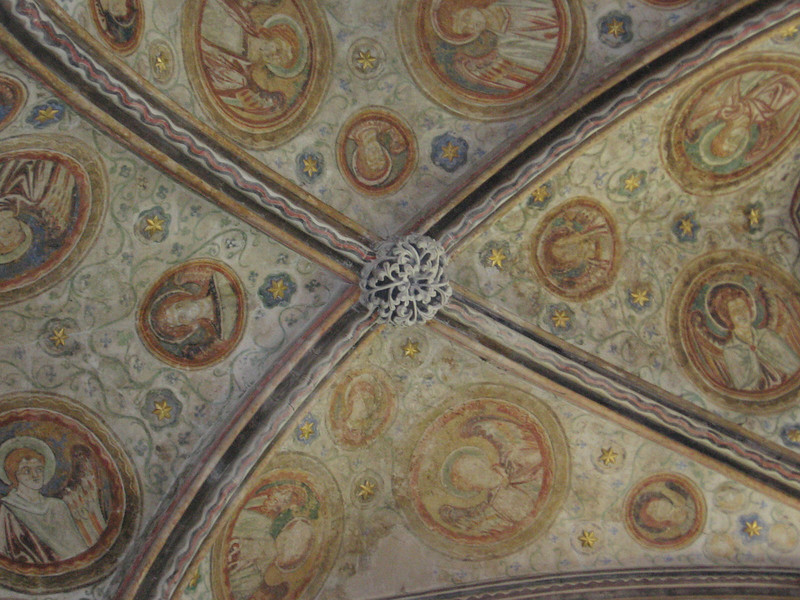 Ceiling of the Guardian Angels Chapel, Winchester Cathedral