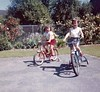Patti and Peggy Hester bikes