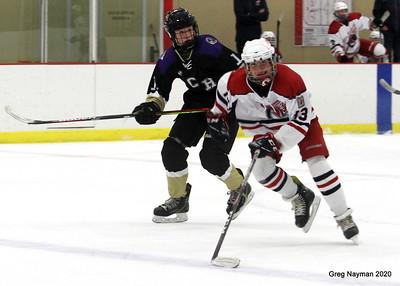 Armstrong Cooper v Chaska Boys Hockey 2020 by Greg Nayman