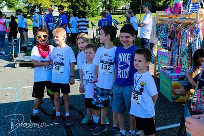 Stinger Sprint 5K Family Color Run 2017