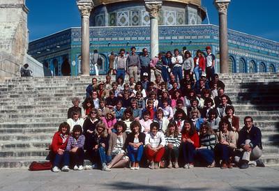 BYU Jerusalem Study Abroad 1984-01 to 1984-06