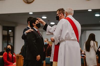 St. Stephen 11th Grade Confirmation Ceremony