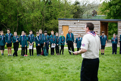 County Scout Skills Day 2017