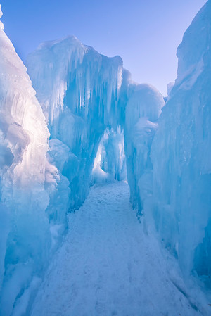 Ice Castles, North Woodstock, New Hampshire