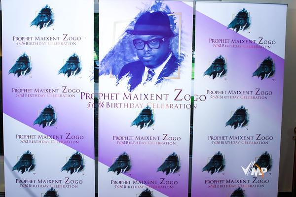 Prophet Maixent Zogo 50th Birthday