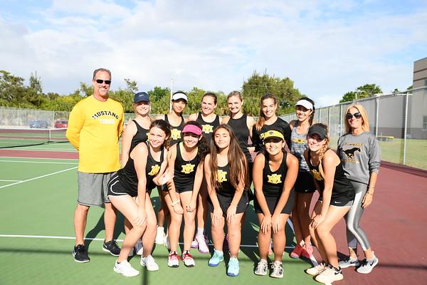Girls Tennis 3/28/2019