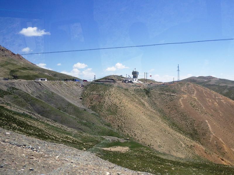 July 22nd... Chinese - Kyrgyzstan border - Torugart Pass at 3.752 meters or 12,310 feet.