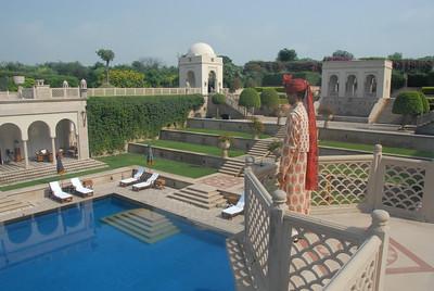 Taj Mahal - Oberoi Amarvillas Hotel