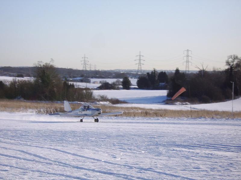 Snow at Plaistows Farm