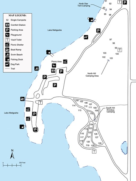 Lake Metigoshe State Park (Primitive Campground)