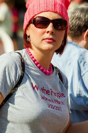 Woman's March, West Palm Beach, FL