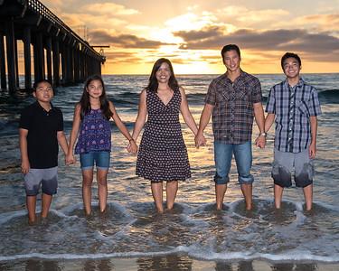 Junior, Cyndi, and Family