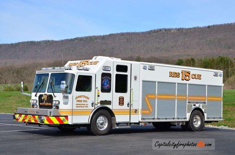 Junction Fire Co. (Granville Township) Rescue 15: 2017 KME Predator