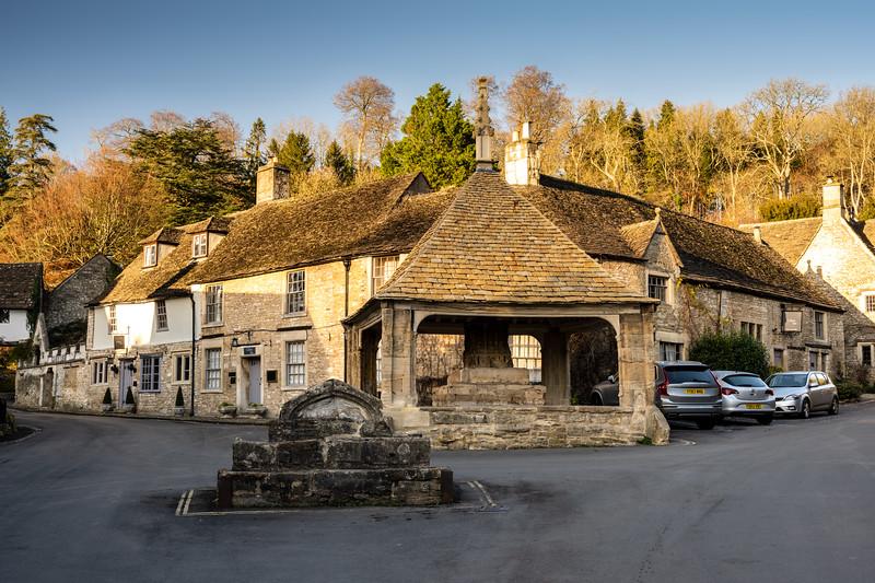 Castle Combe village