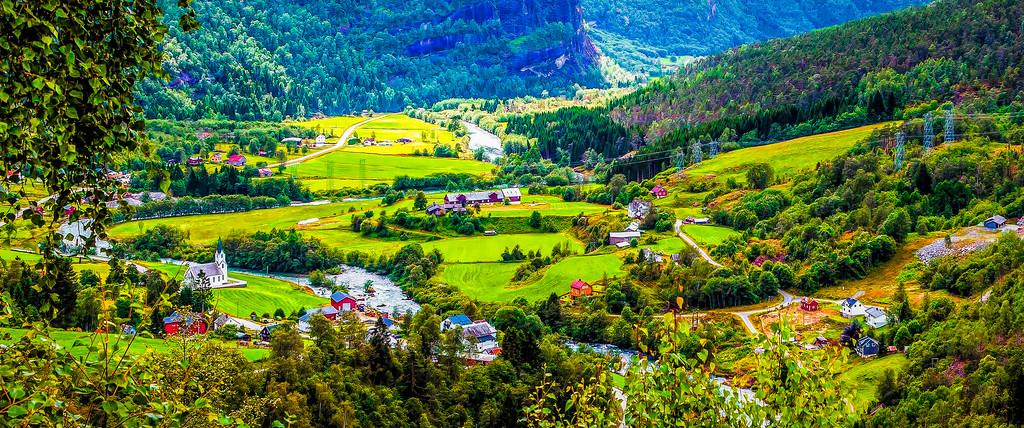 北欧风光,景色迷人