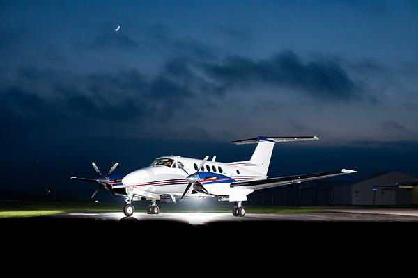 King Air B200 N862HT (High Res No Logo)
