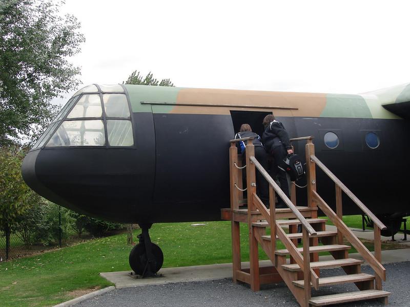 replica van een Horsa-vliegtuig
